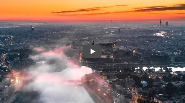Wawel z drona 4K